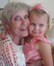 Lillian and great grandma Patty